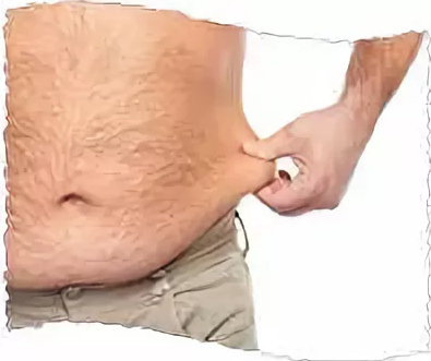 Как мужчине дома убрать жир с низа живота?