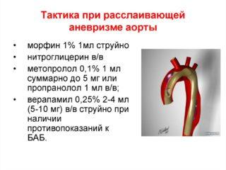 Аневризма аорты брюшной полости операция