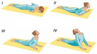 Простые гимнастические упражнения при месячных для уменьшения боли