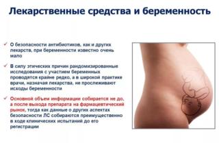 Лекарственные средства и беременность