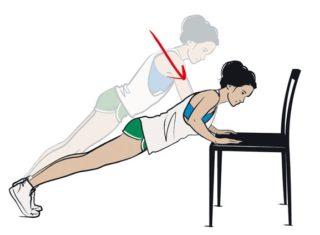 Упражнения для нижней части грудных мышц