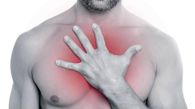 Сжимающая боль в груди