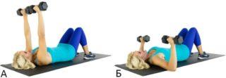Тренировка грудных мышц в тренажерном зале для девушек