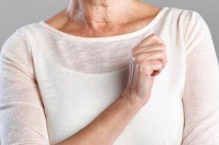 Жжение в левой молочной железе во время менопаузы
