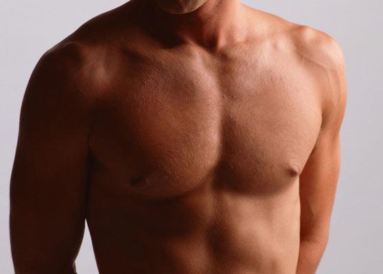 Есть ли у мужчин молочные железы: строение мужской груди