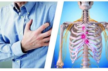 Резкая, сильная боль между ребрами спереди по центру и тошнота: возможные причины
