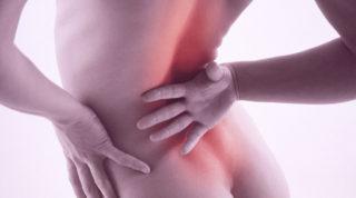 Боль внизу спины слева от позвоночника ниже поясницы
