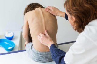 Боль в спине у ребенка