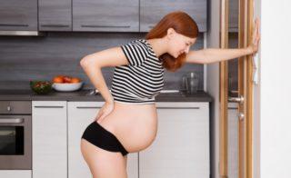 Как долго может болеть поясница перед родами