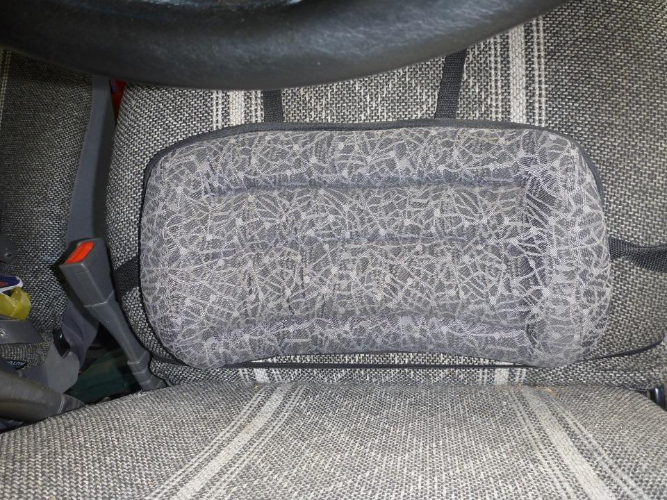 Как правильно выбрать подушку под спину в автомобиль