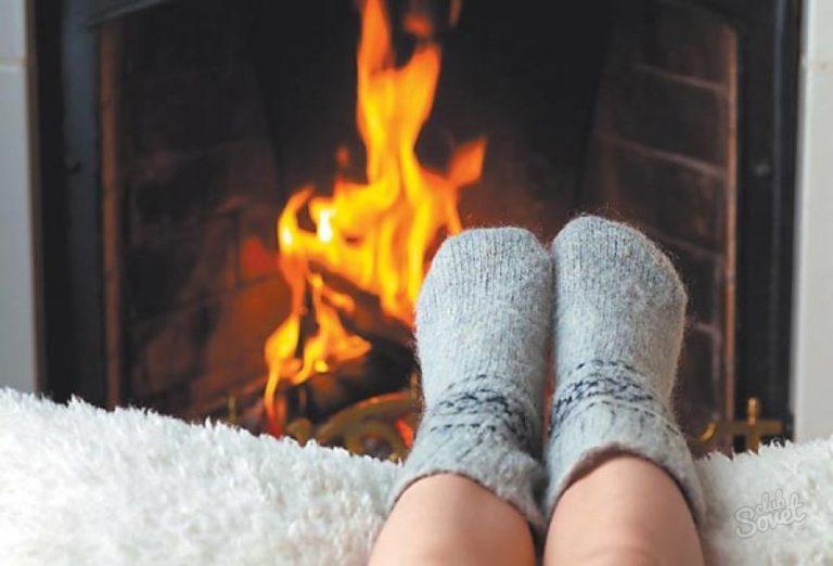 Почему когда холодно потеют ноги