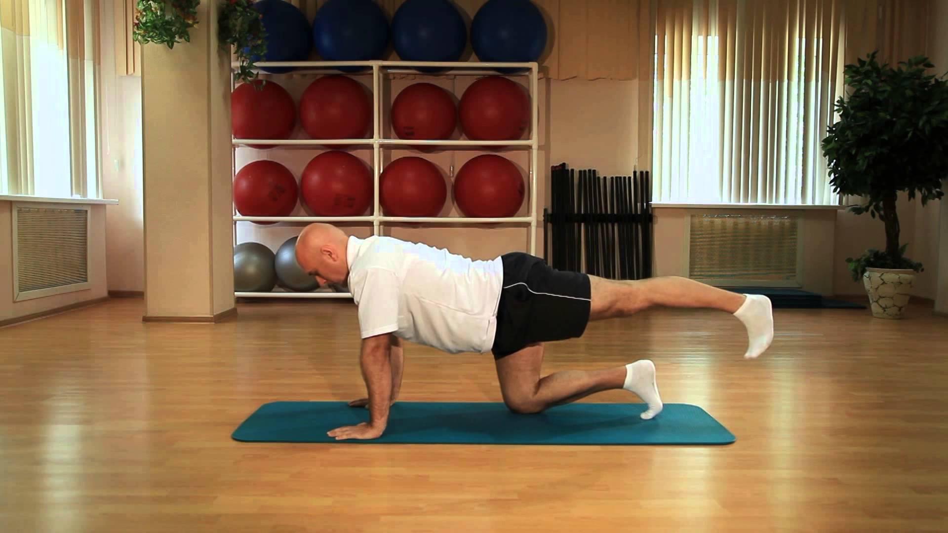 Упражнения для тазобедренного сустава Сергея Михайловича 49